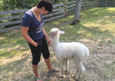 Denise & Alpaca